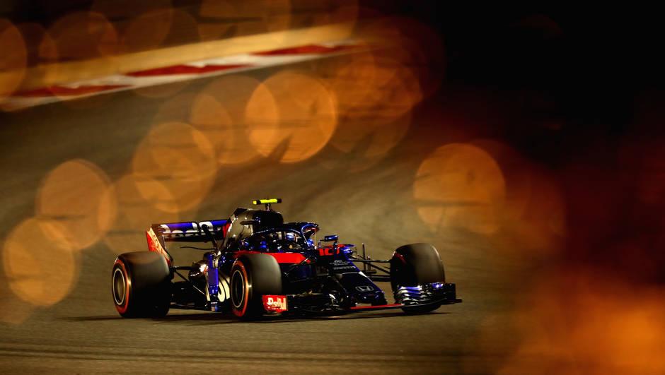 Pierre Gasly (Toro Rosso-Honda) - Bahrein 2018