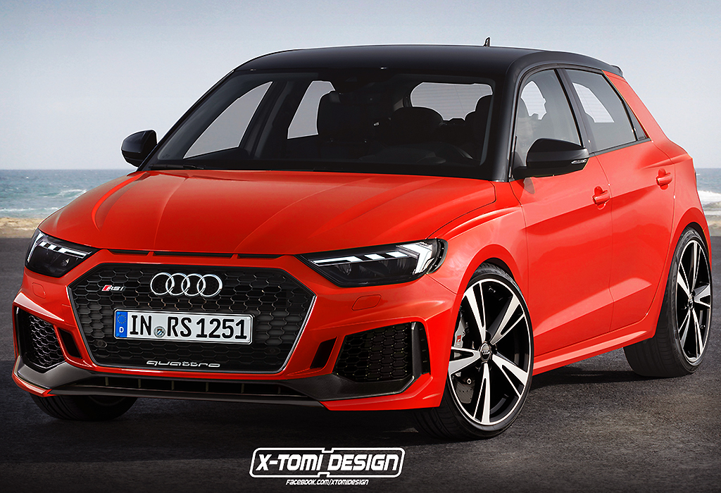 Audi RS1 Quattro by X-Tomi Design