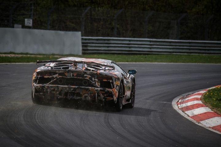 Lamborghini Aventador SVJ Ring