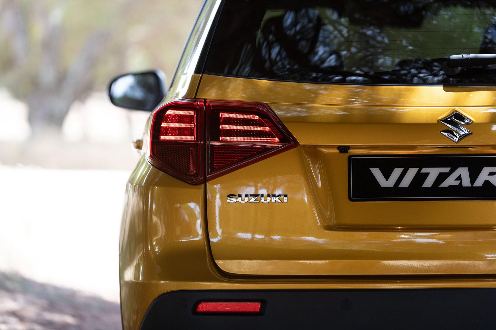 2018 Suzuki Vitara facelift 2019
