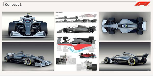 F1 Design Concept Study 2021