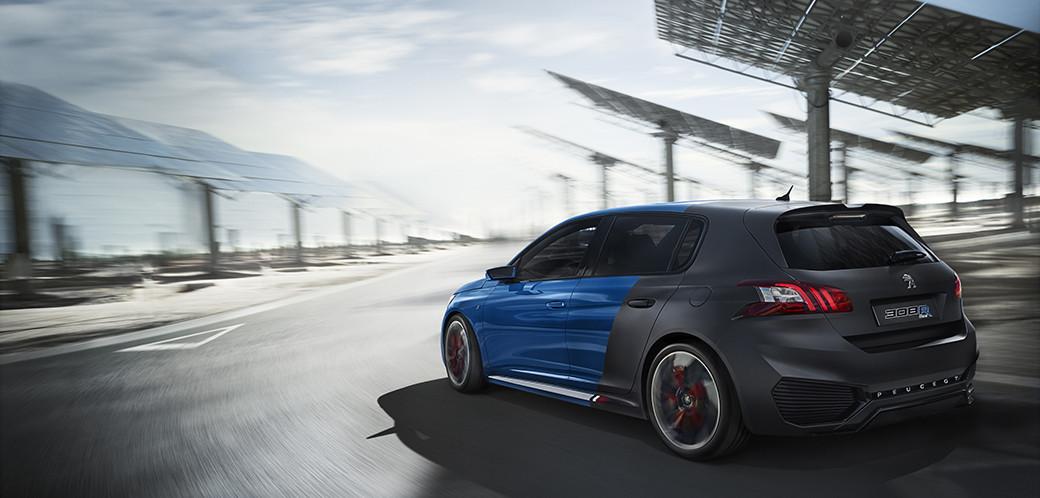 Peugeot 308R Hybrid Concept