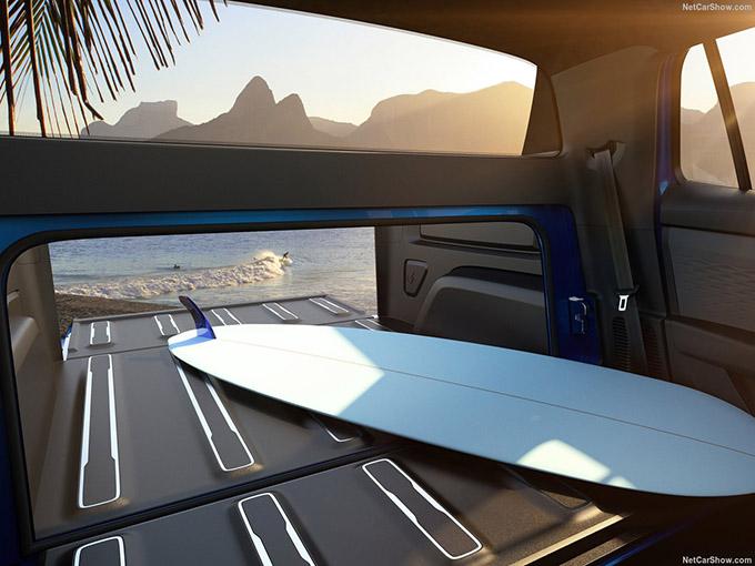 VW Tarok Pick-Up Concept 2018