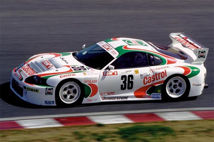 Toyota Supra GT500 Tom's Castrol