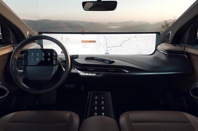 Byton M-Byte SUV Screen