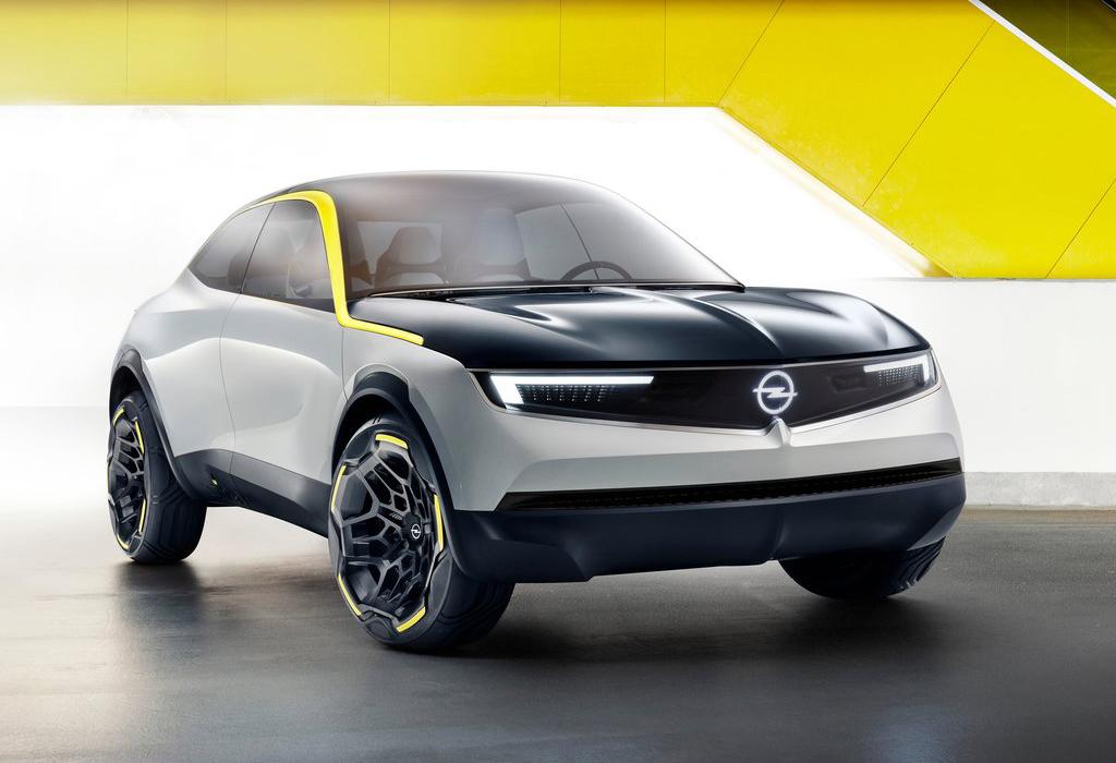 2018 Opel GT X Experimental Concept