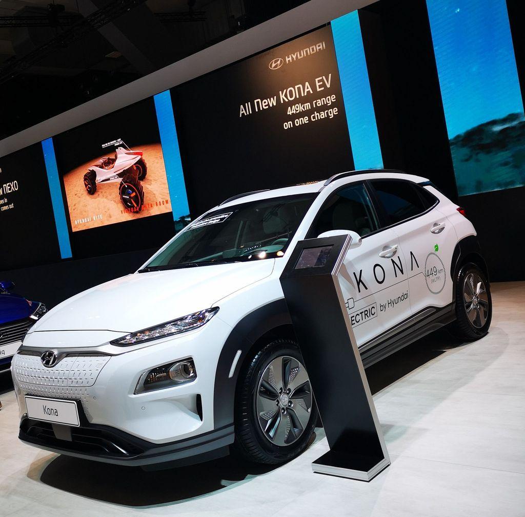 Autosalon Brussel 2018 Hyundai Kona EV