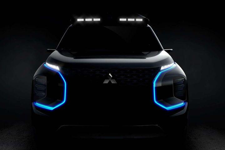 2019 Mitsubishi Engelbert Tourer SUV Concept