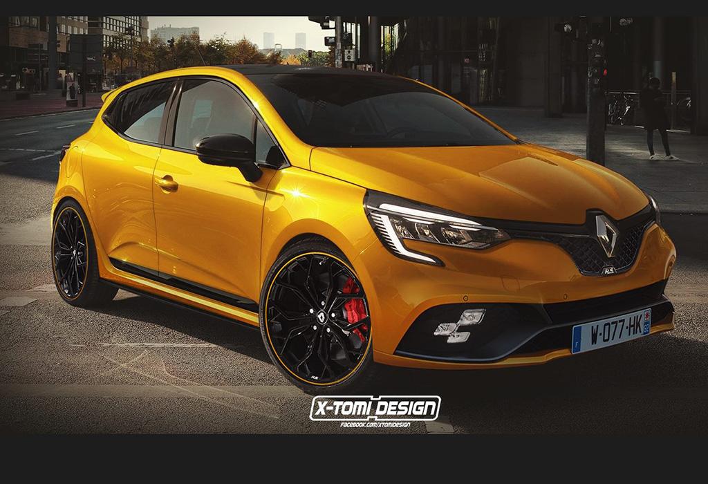Render Renault Clio RS X-Tomi Design