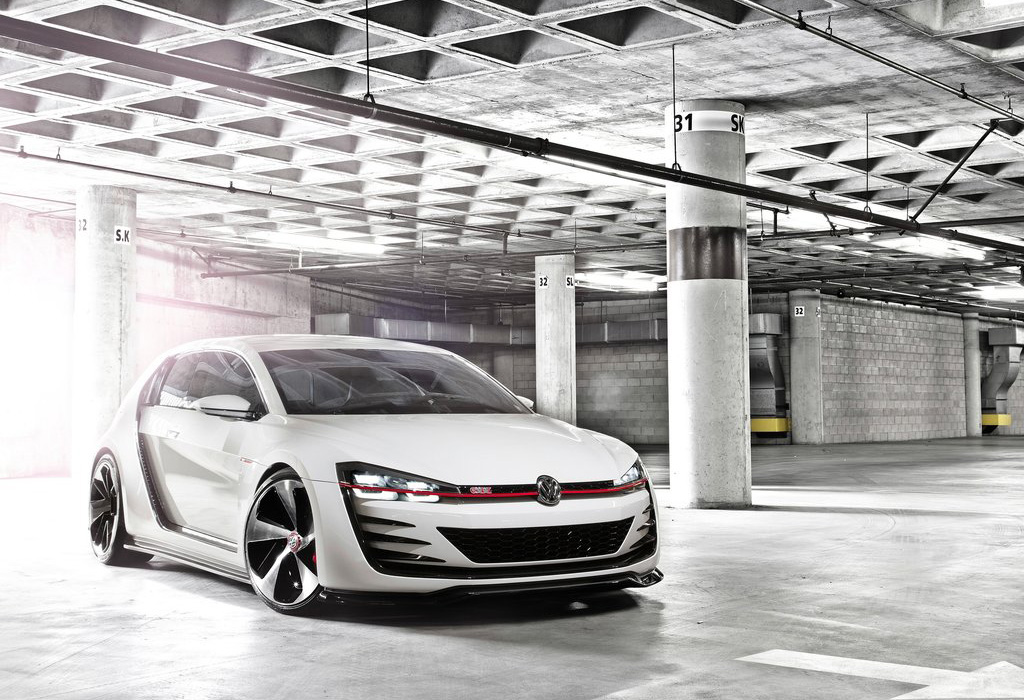 2013 VW Golf GTI Design Vision Concept