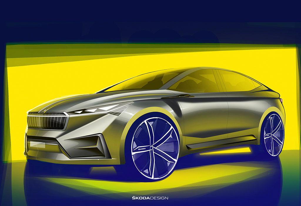 Skoda Vision iV Electric Concept