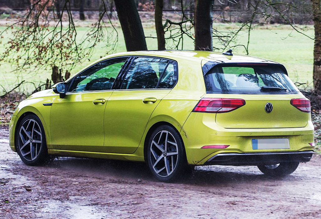 Spy 2020 VW GOLF 8