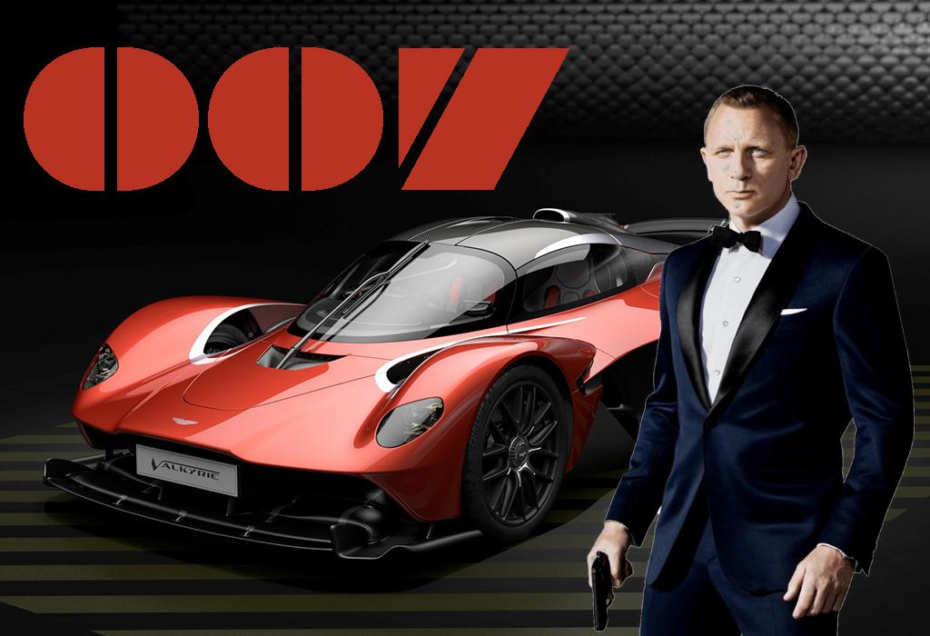 James Bond Aston Martin Valkyrie