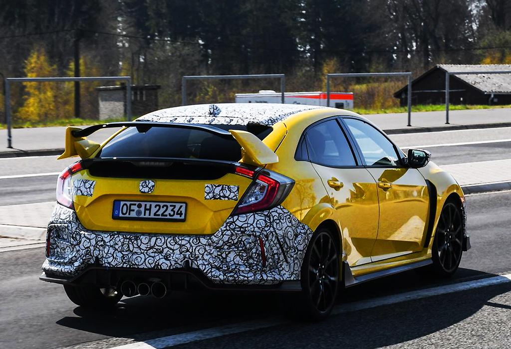 Spy Honda Civic Type RR Nürburgring