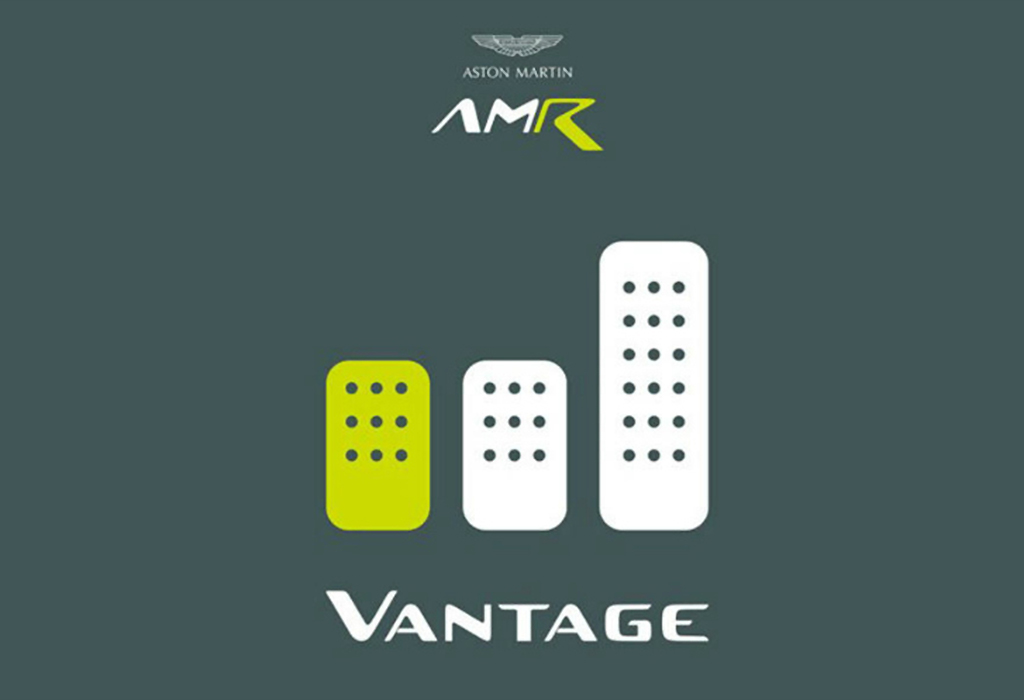 Aston Martin Vantage: manual transmission