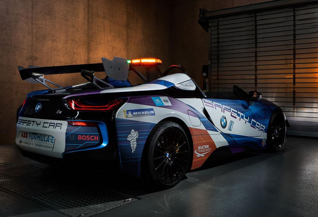 2019 BMW i8 Roadster Safety Car Formula E