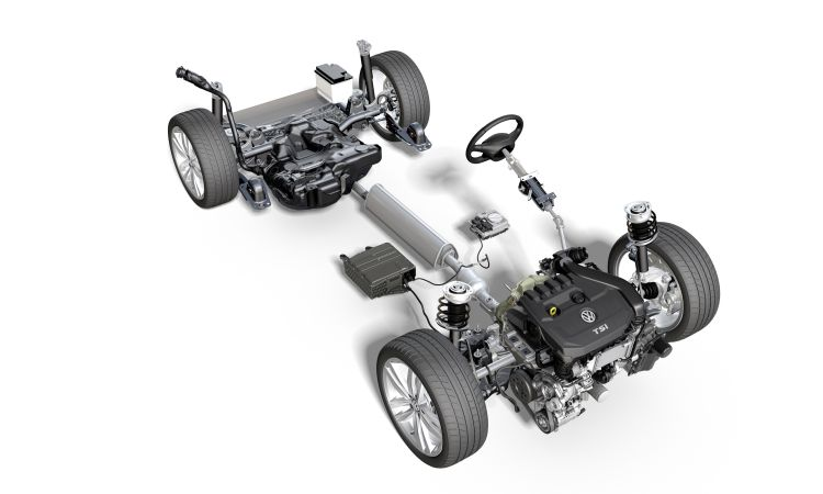 VW GOLF 8: 1.5 I-TSI MHEV