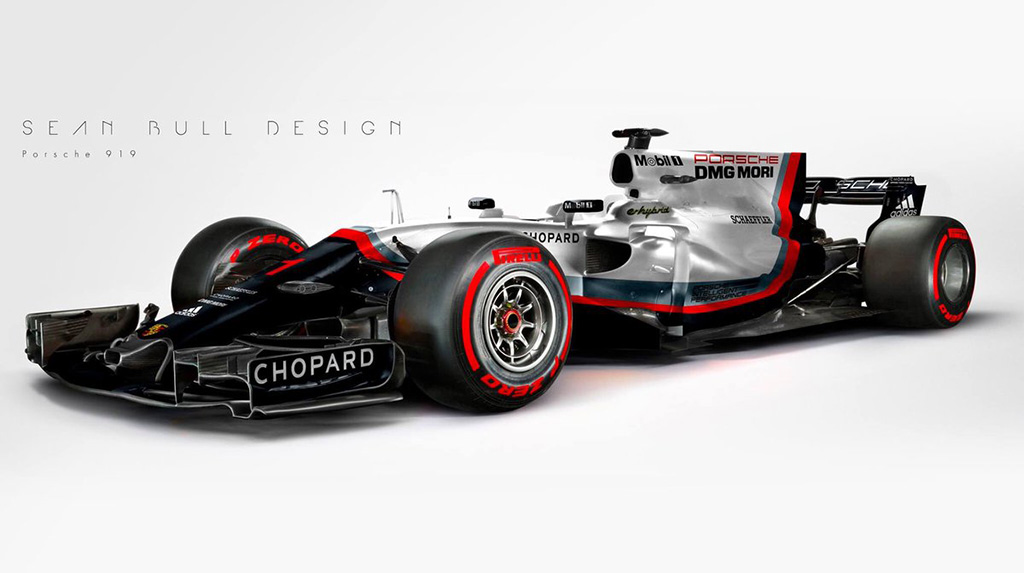 Porsche F1 by Sean Bull Design