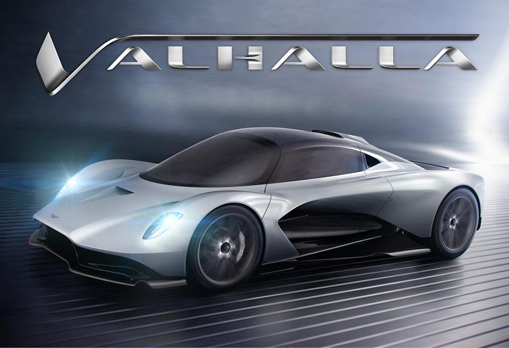 Aston Martin Valhalla Hybrid Hypercar