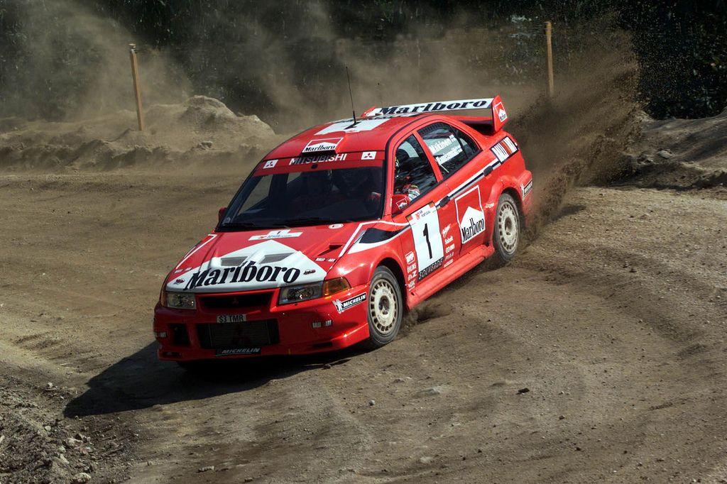 Tommi Makinnen - Mitsubishi Evo Gr. A