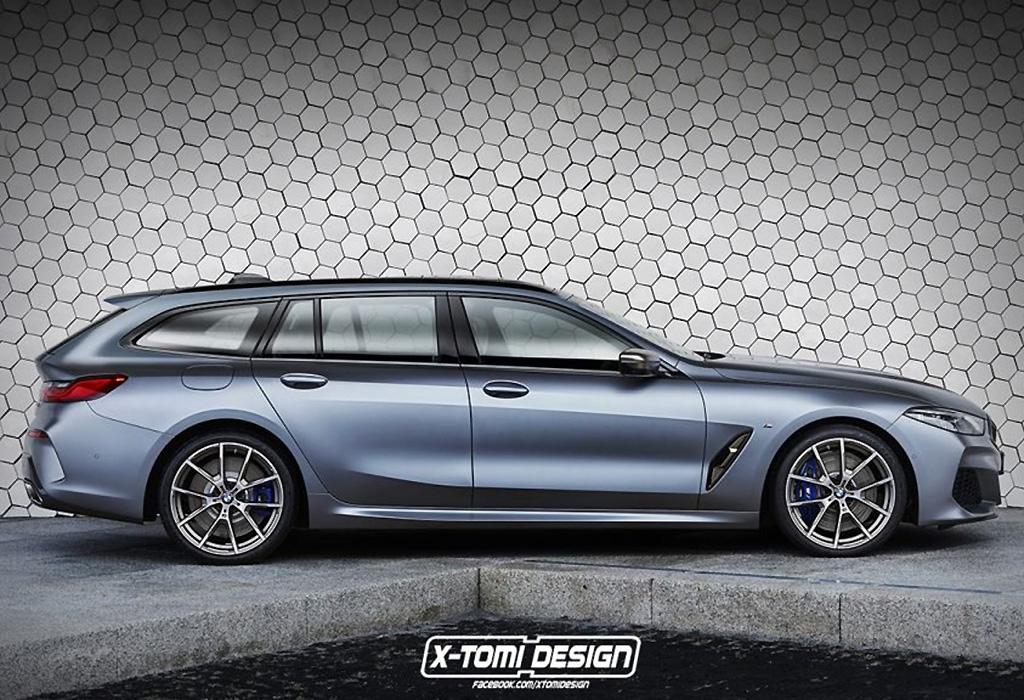 BMW 8 Shooting Brake by X-Tomi Design