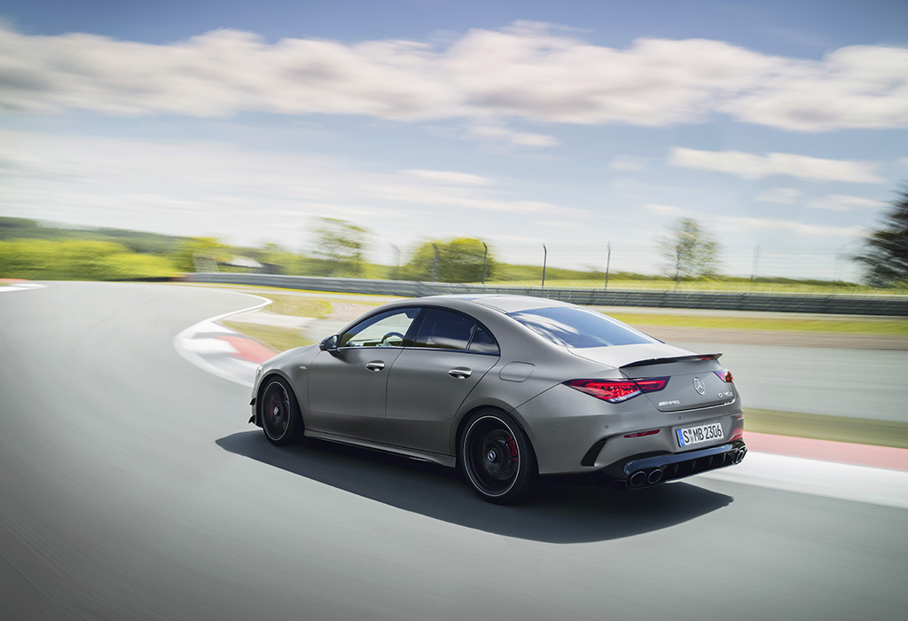 2019 Mercedes-AMG CLA 45 S Coupé