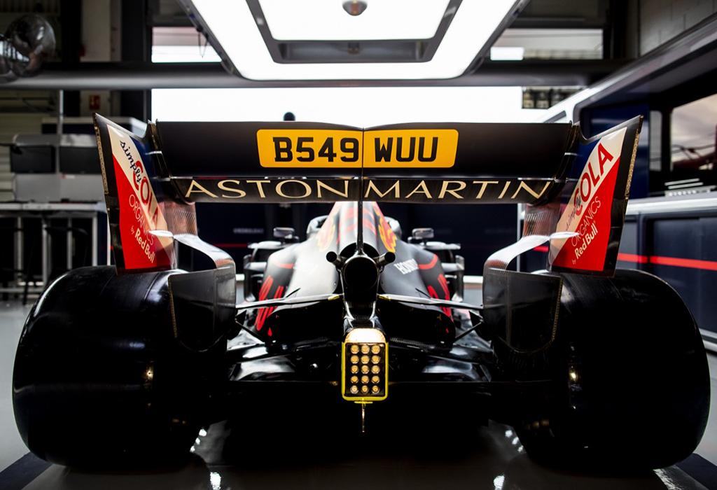 Red Bull-Honda RB15 James Bond 007 Silverstone 2019