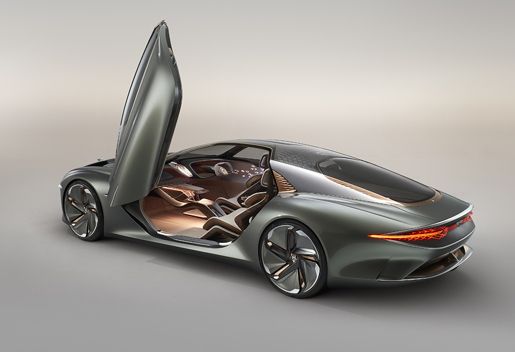 Bentley EXP 100 GT Concept #Bentley100