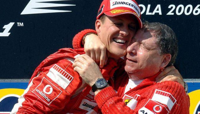Schumacher Todt Scuderia Ferrari
