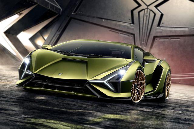 IAA 2019 - Lamborghini Sian