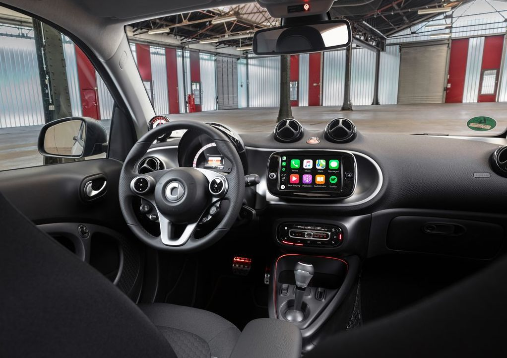 2020 Smart EQ ForTwo/ForFour - interior