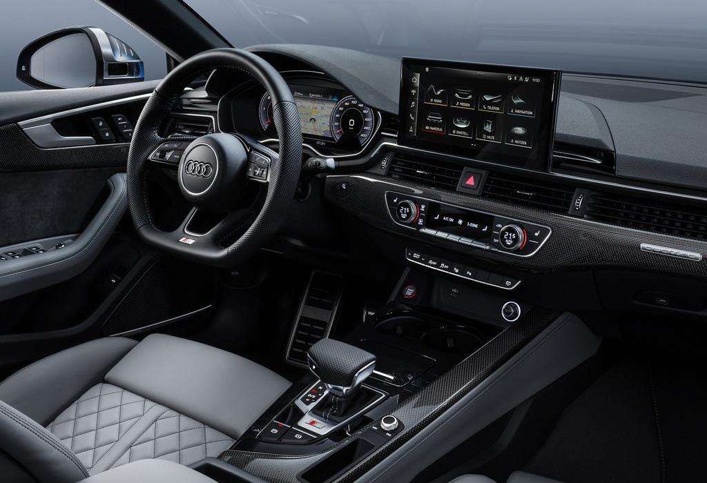 2019 Audi S5 Sportback Quattro interior