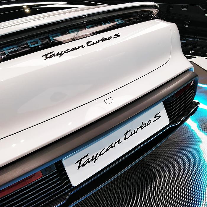 Porsche Taycan Turbo S - IAA 2019