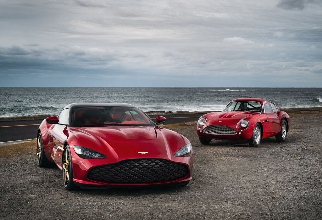 Aston Martin DBZ Centenary Collection Zagato