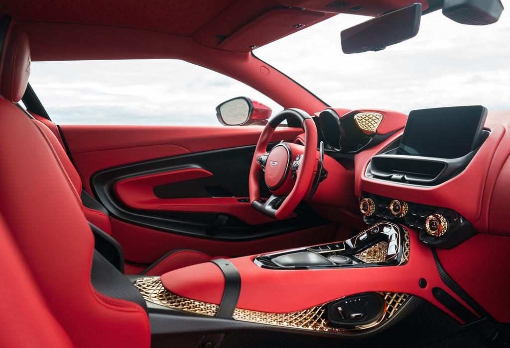 Aston Martin DBS Zagato interior