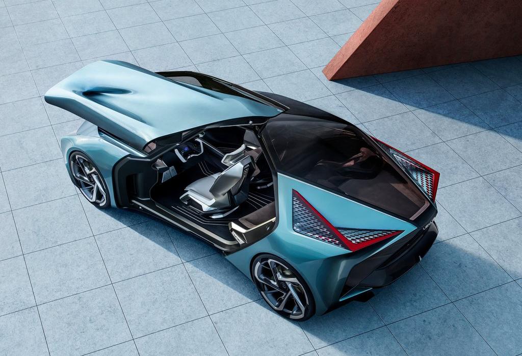 Lexus LS-30 Electrified - 2019 Tokyo Motor Show