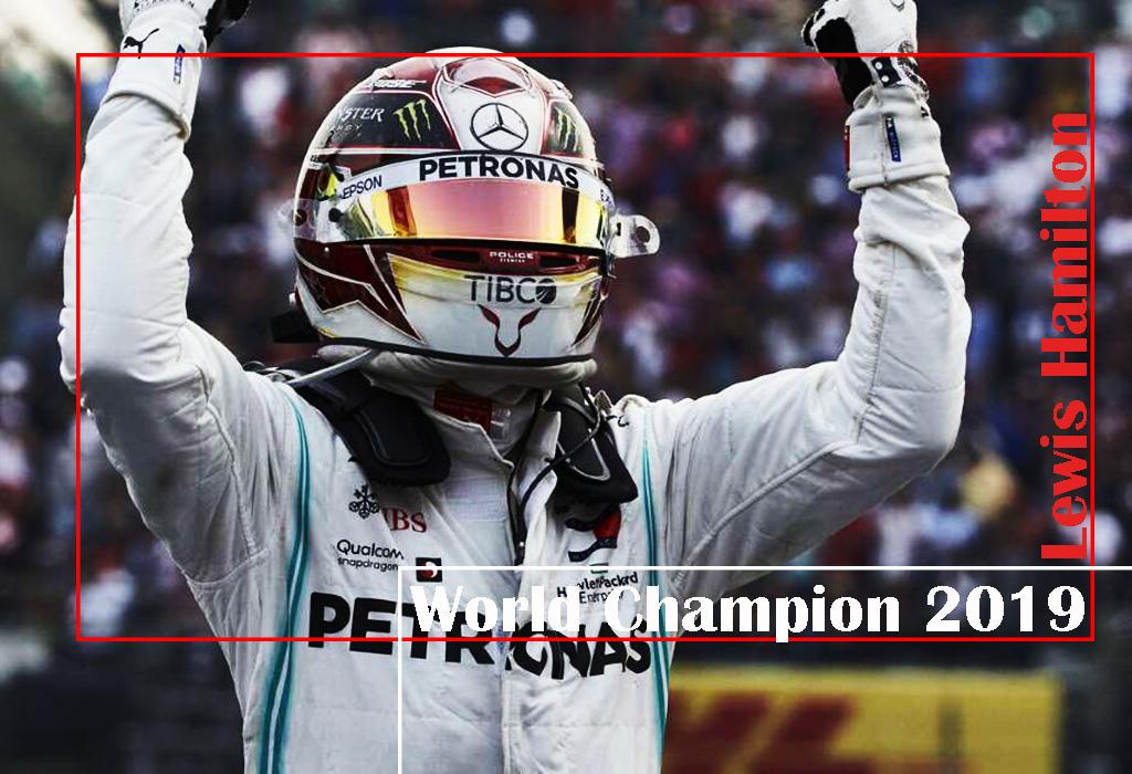 Lewis Hamilton - Wereldkampioen F1 2019