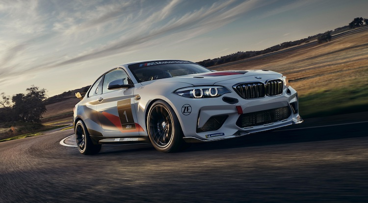 2020 BMW M2 CS Racing