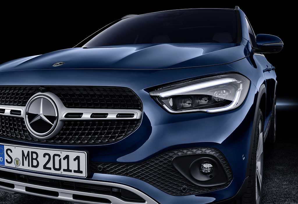 2020 Mercedes GLA - Brussels Motor Show