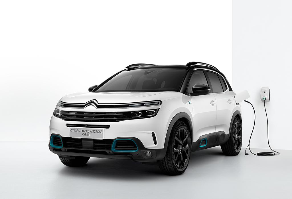 Citroën C5 Aircross Hybrid als wereldpremière op Autosalon Brussel 2020