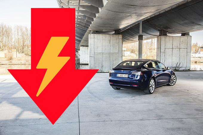 Wereldwijde verkoop van EV stokt in 2019