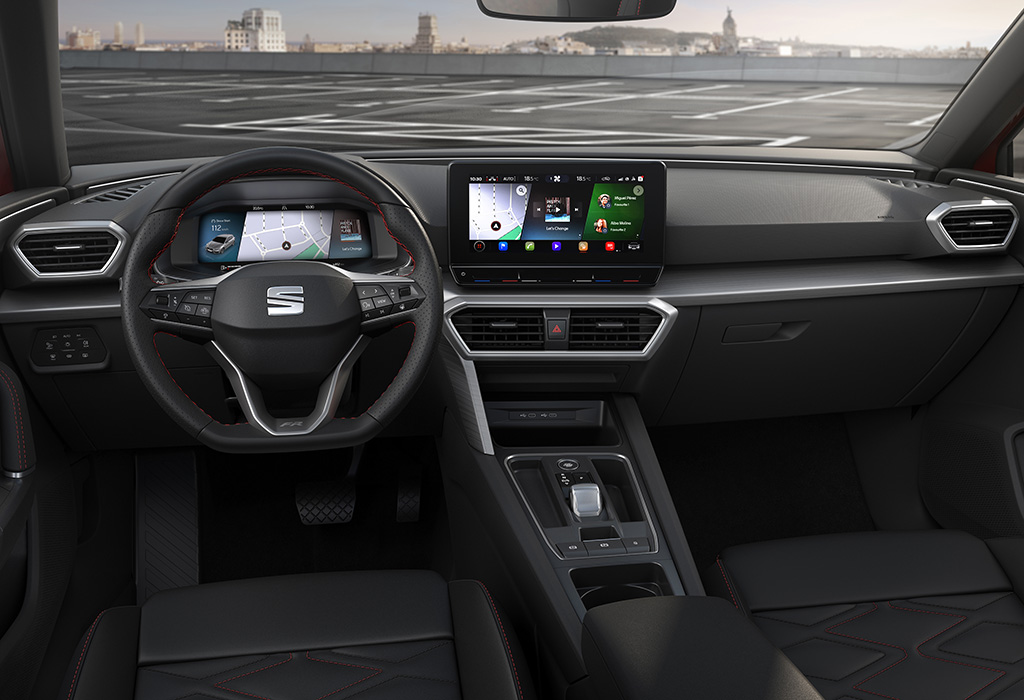 2020 Seat Leon - interieur