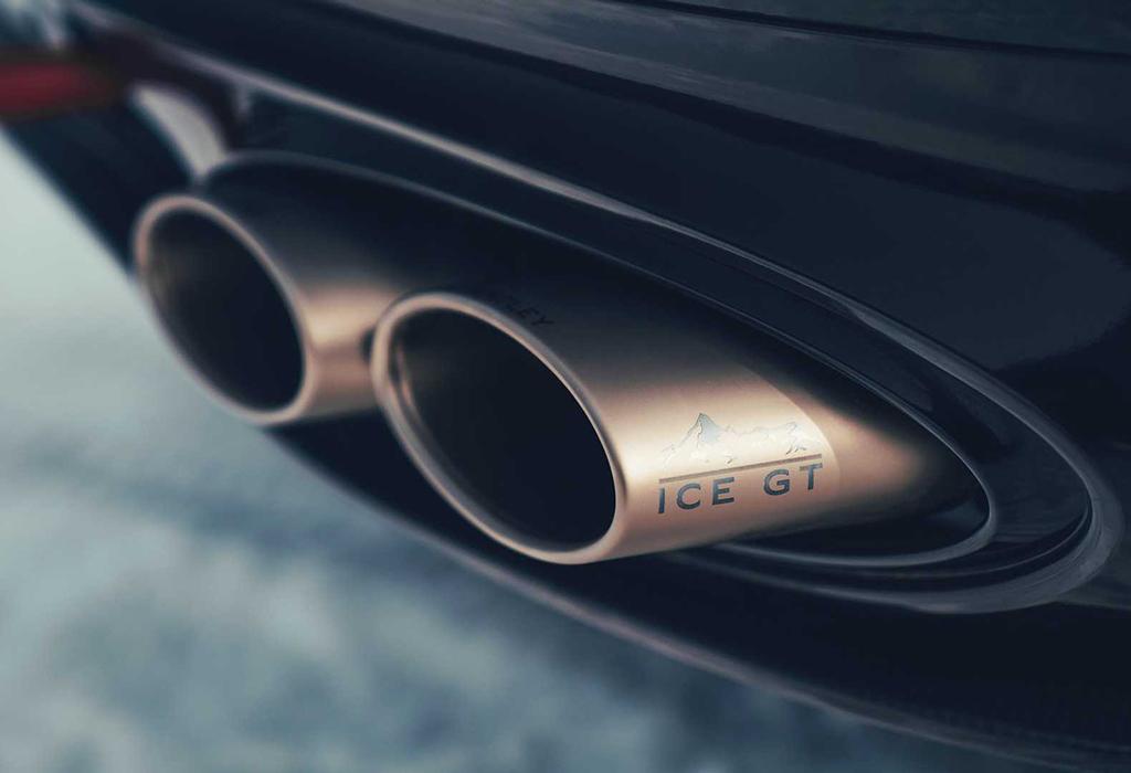 2020 Bentley Continental GT Ice Race