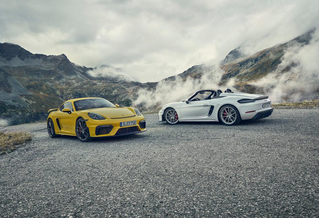 Zo maakt Porsche de GT4 en Boxster Spyder nog sneller