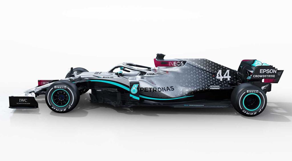 F1 2020: Mercedes W11