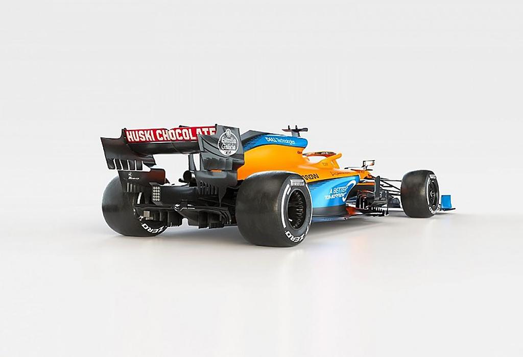 F1 2020: McLaren MCL35 (Renault)