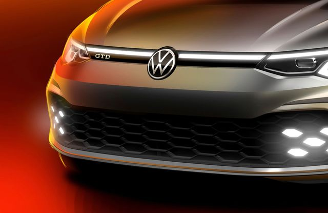 Teaser VW Golf GTD 2020