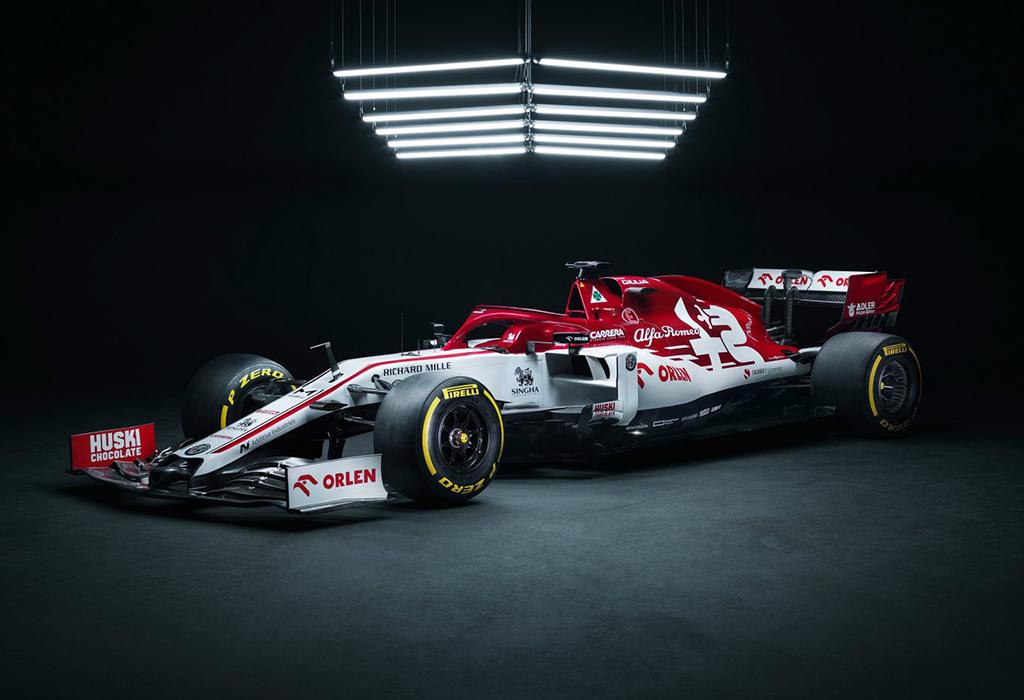 F1 2020: Alfa Romeo C39 (Ferrari)