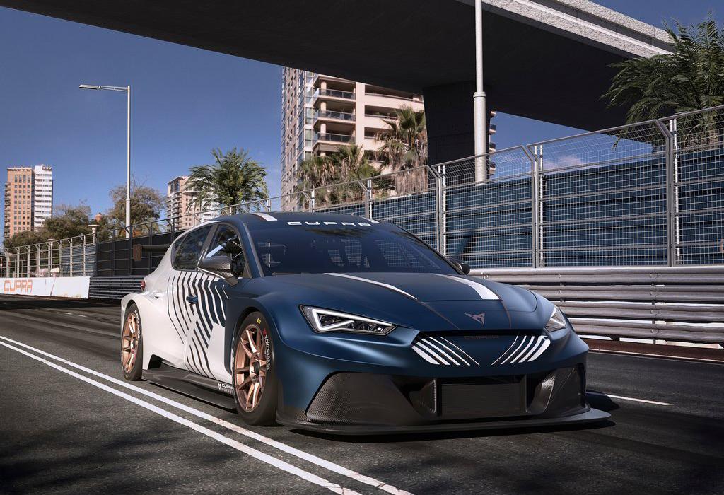2020 Cupra Leon E-Racer