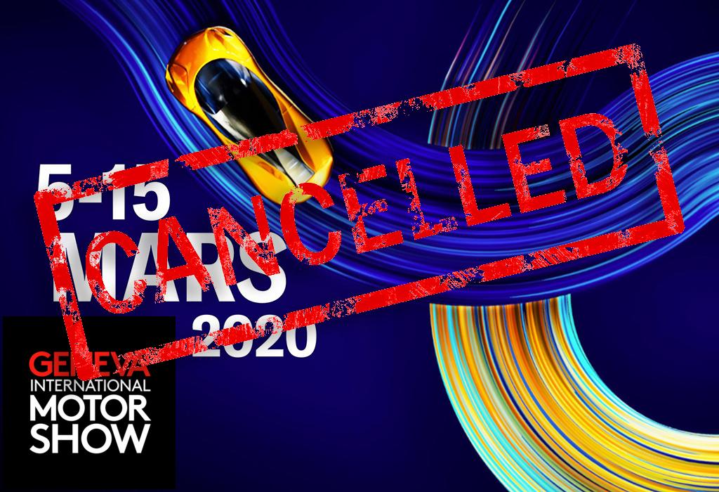 Autosalon Genève 2020 geannuleerd!